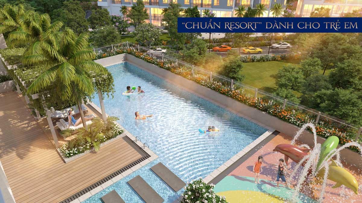 chuan resort danh cho tre em tai precia - PRECIA QUẬN 2