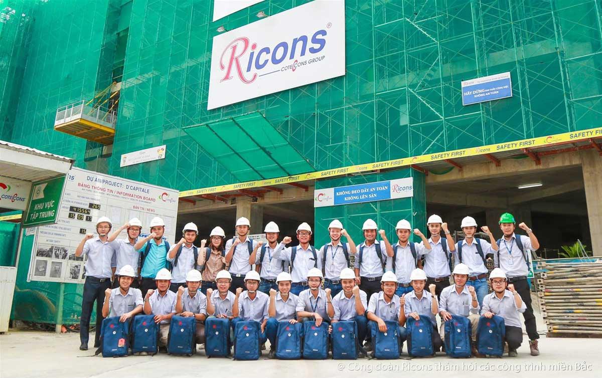 cong ty ricons - CÔNG TY CỔ PHẦN ĐẦU TƯ XÂY DỰNG RICONS