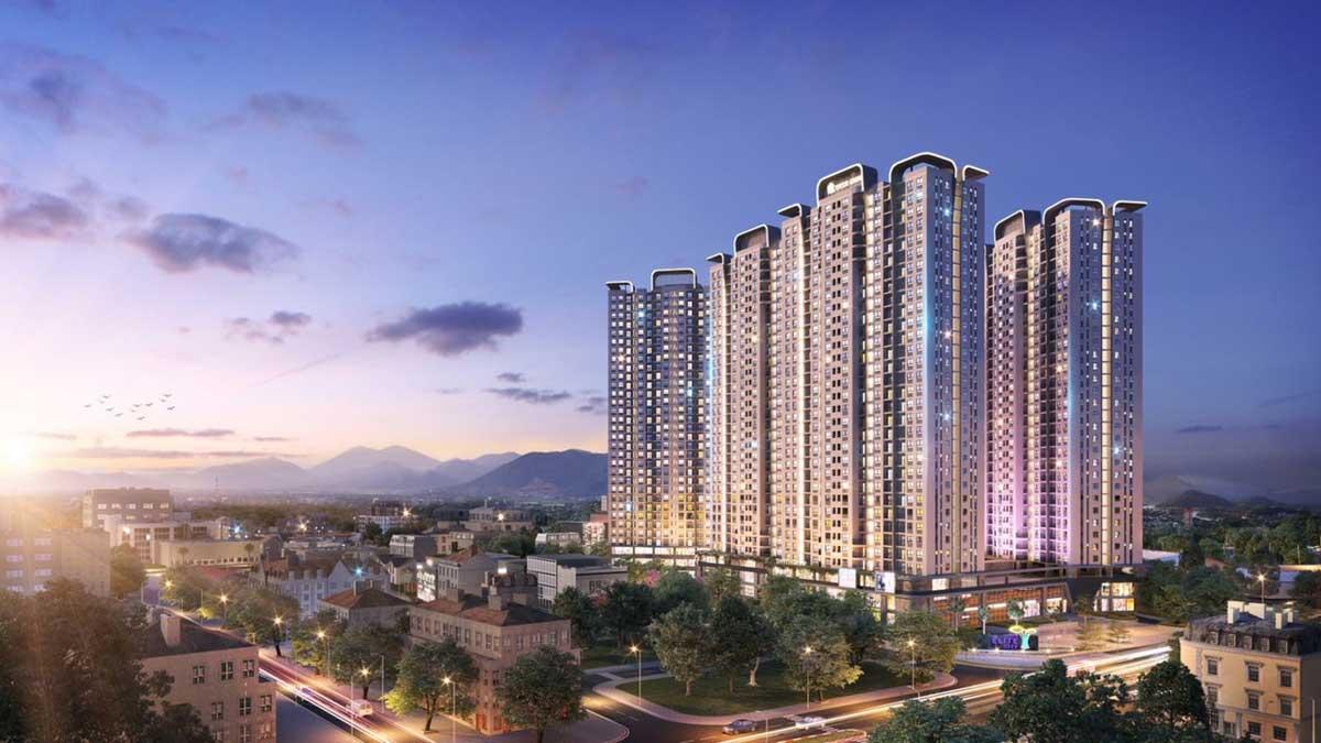 Dự án Căn hộ Chung cư Elite City Thái Nguyên