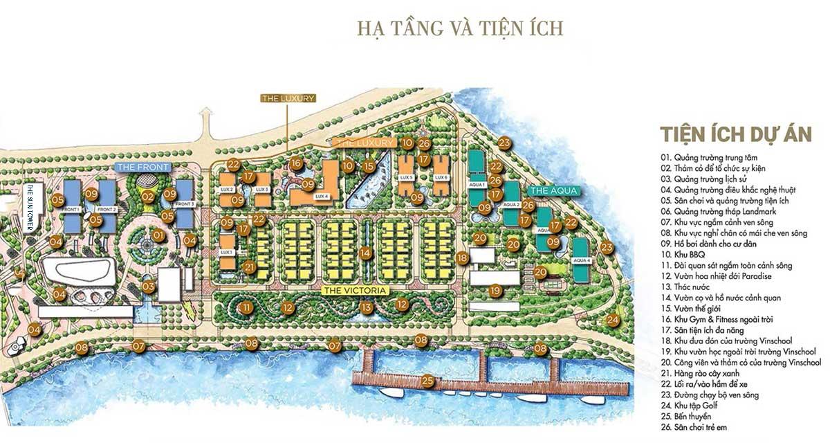 he thong tien ich noi khu du an the sun tower - The Sun Tower CapitalandQuận 1