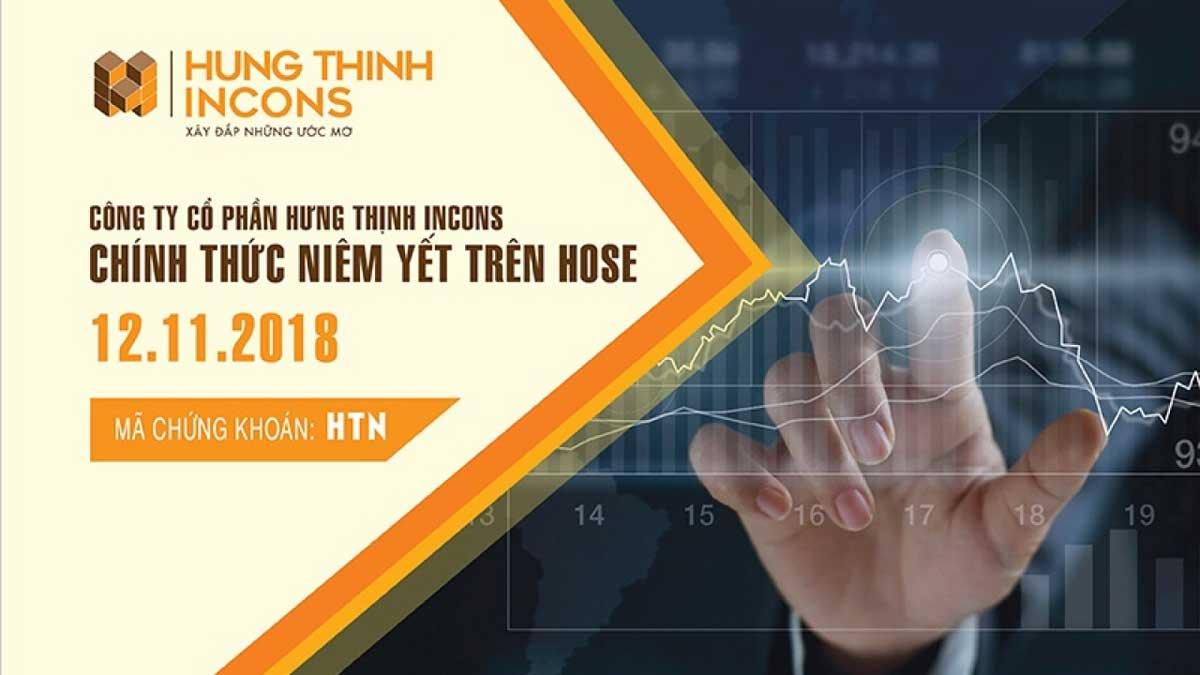 hung thinh incons tren san chung khoan - CÔNG TY CỔ PHẦN HƯNG THỊNH INCONS