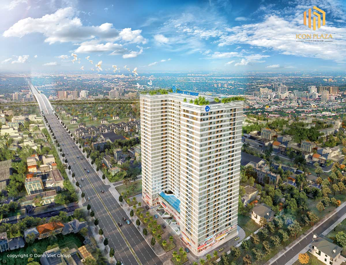 Phối cảnh Dự án Căn hộ Chung cư Icon Plaza Bình Dương