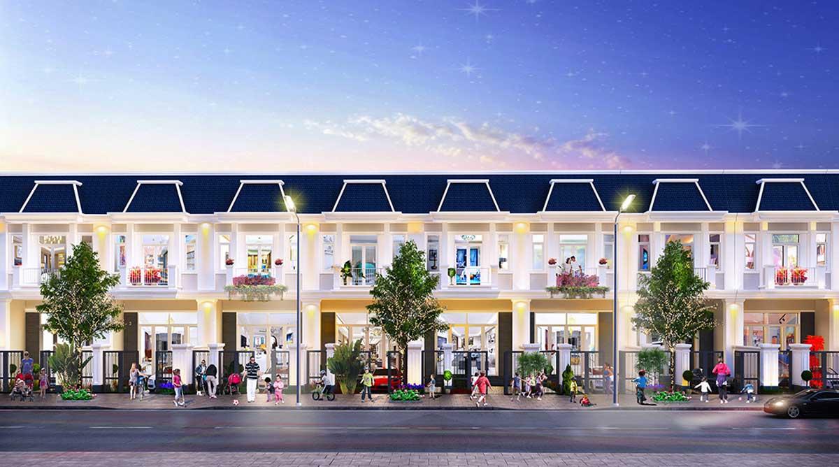 phoi canh mau nha lien ke vuon century city - CENTURY CITY LONG THÀNH ĐỒNG NAI