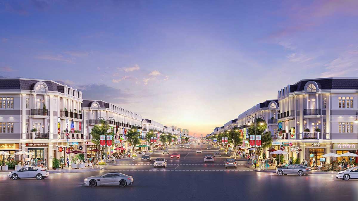 phoi canh nha pho century city long thanh - CENTURY CITY LONG THÀNH ĐỒNG NAI