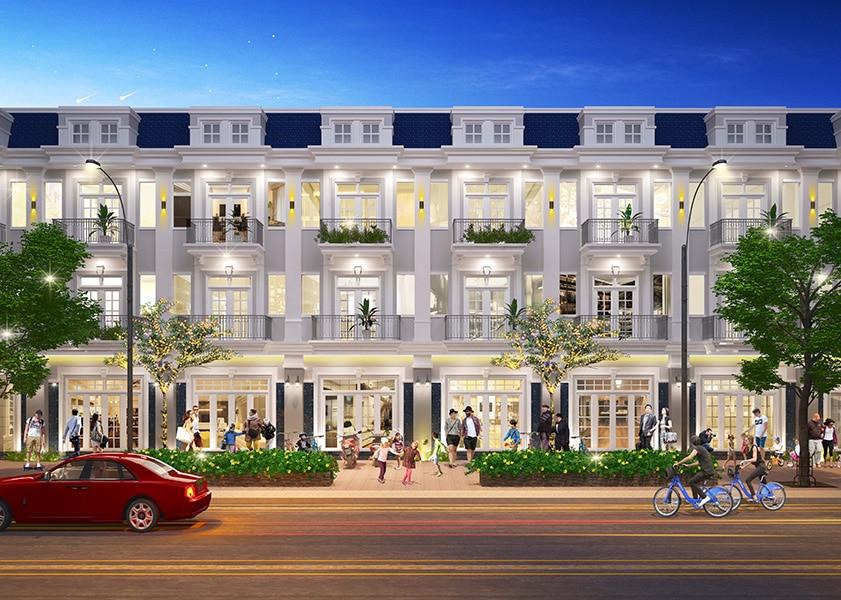 phoi canh nha pho lien ke century city - CENTURY CITY LONG THÀNH ĐỒNG NAI