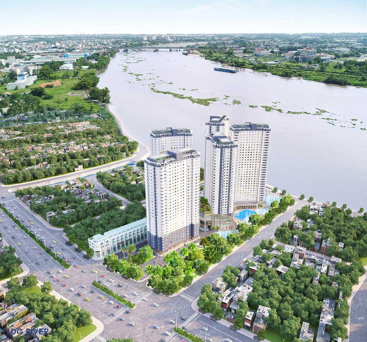 tien ich du an ldg river thu duc - LDG RIVER THỦ ĐỨC