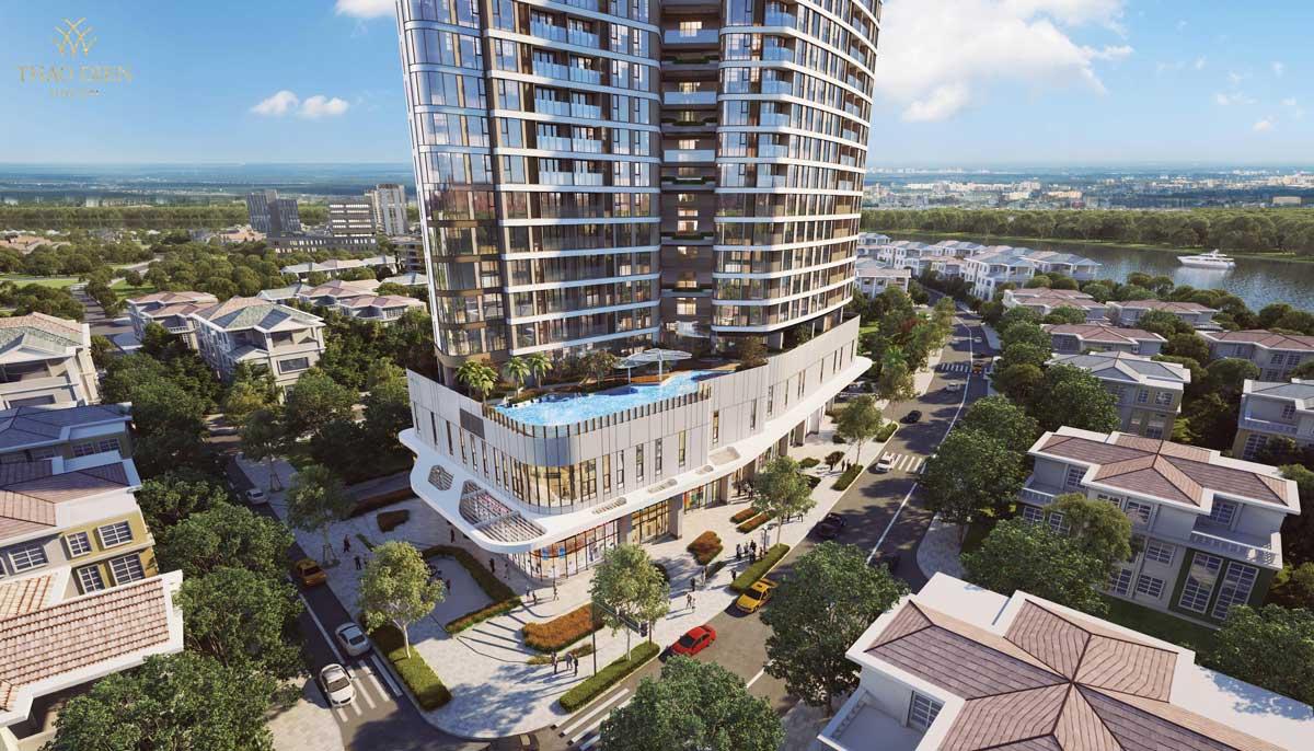 tien ich ho boi tran bo du an can ho thao dien green - Thảo Điền Green Towers Quận 2