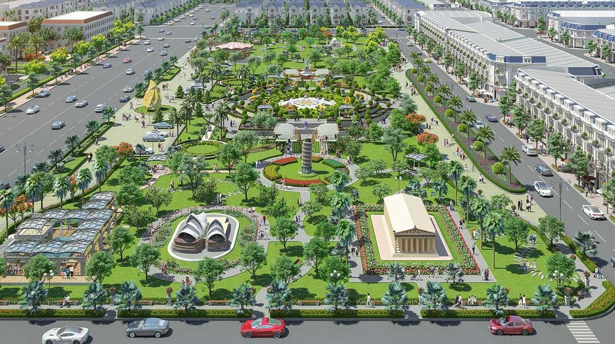 toàn cành Công viên Century Park 2ha - CENTURY CITY LONG THÀNH ĐỒNG NAI