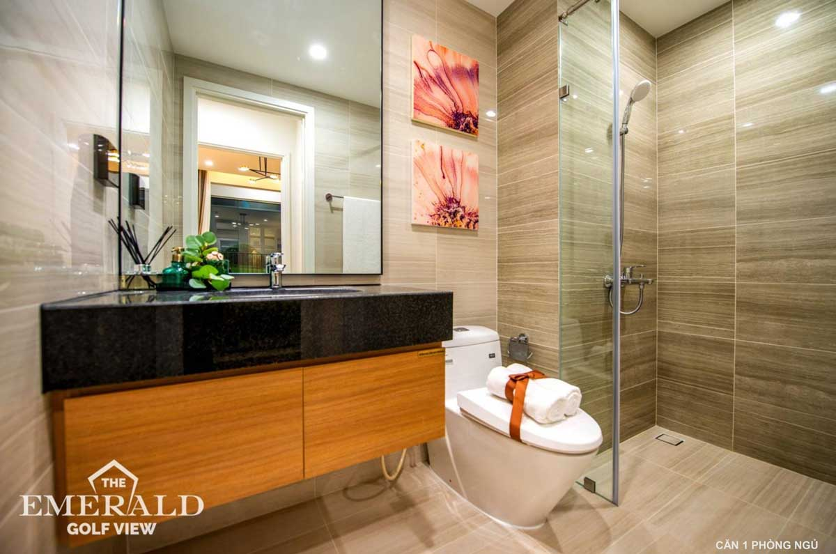 toilet can ho 1 phong ngu the emerald golf view - THE EMERALD GOLF VIEW BÌNH DƯƠNG
