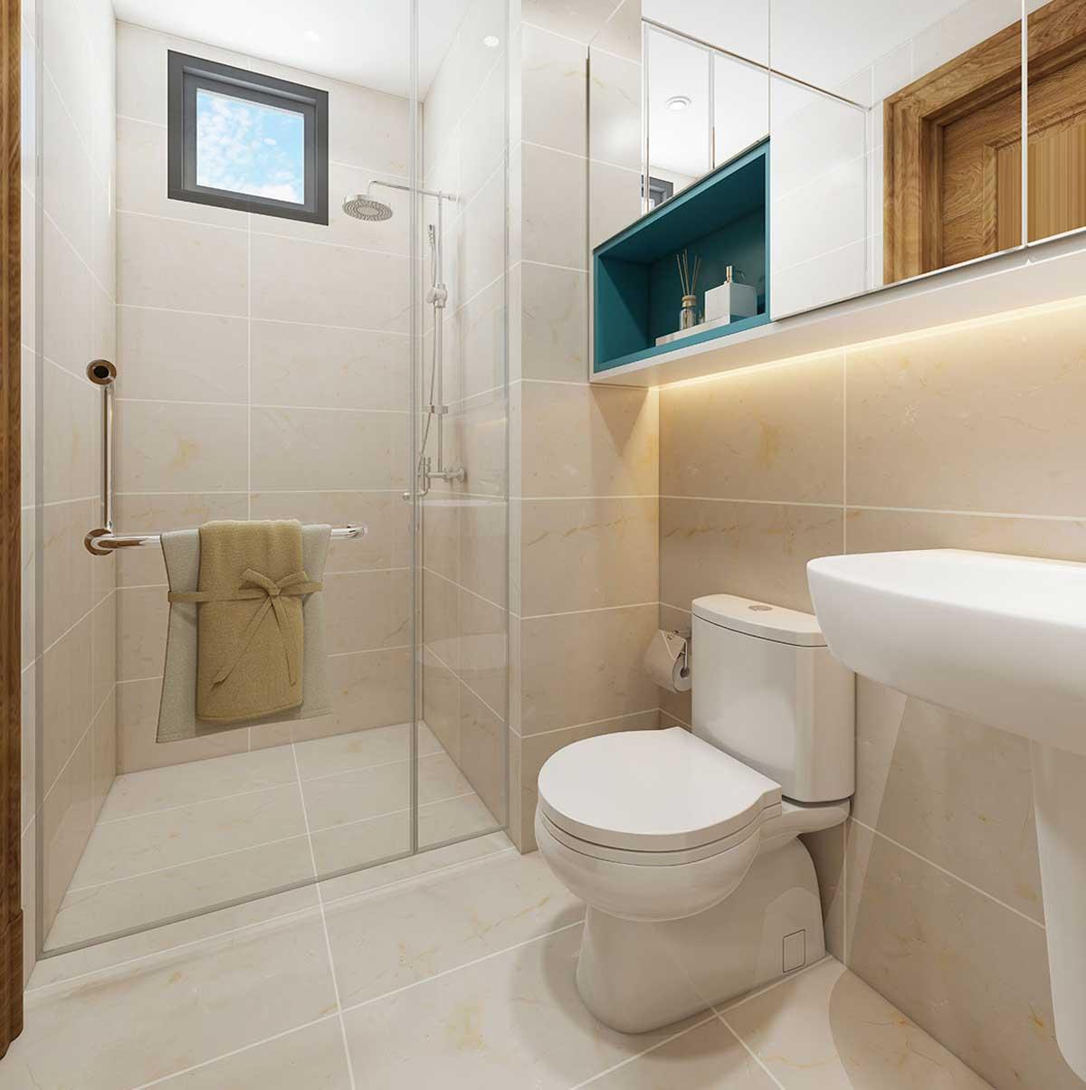 toilet can ho icon plaza - ICON PLAZA BÌNH DƯƠNG