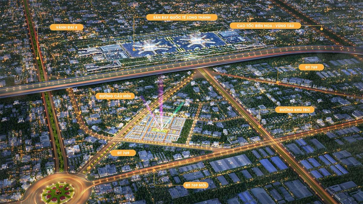 tong the khu vuc du an century city long thanh - CENTURY CITY LONG THÀNH ĐỒNG NAI