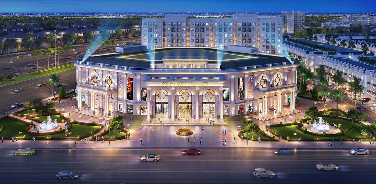trung tâm thương mại hội nghị Century Palace - CENTURY CITY LONG THÀNH ĐỒNG NAI