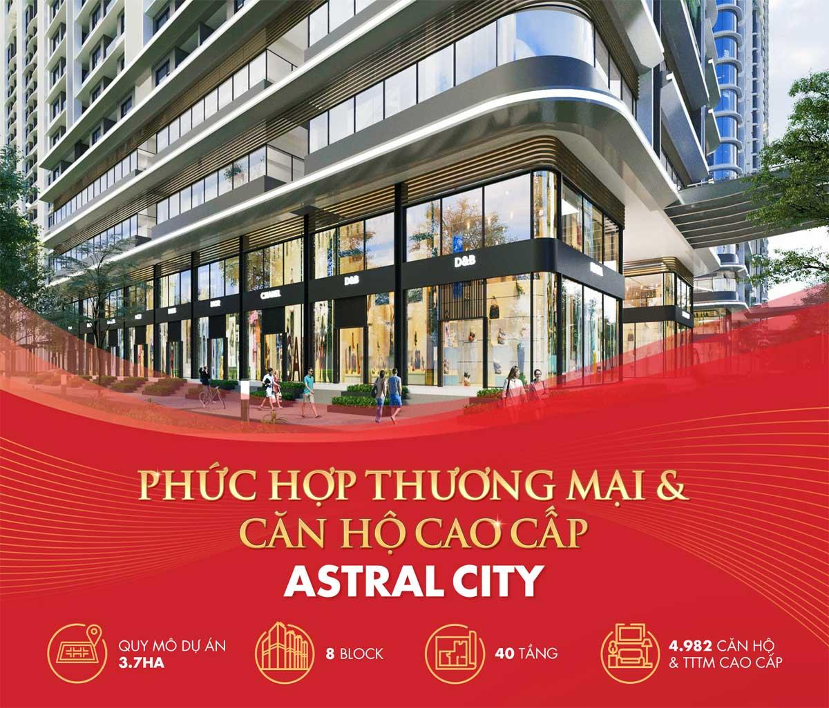 trung tam thuong mai cao cap tai astral city - ASTRAL CITY