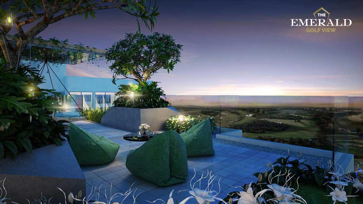 vuon chan may the emerald golf view - THE EMERALD GOLF VIEW BÌNH DƯƠNG