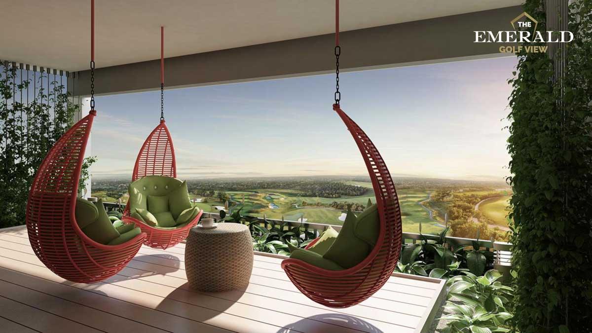 vuon treo the emerald golf view - THE EMERALD GOLF VIEW BÌNH DƯƠNG