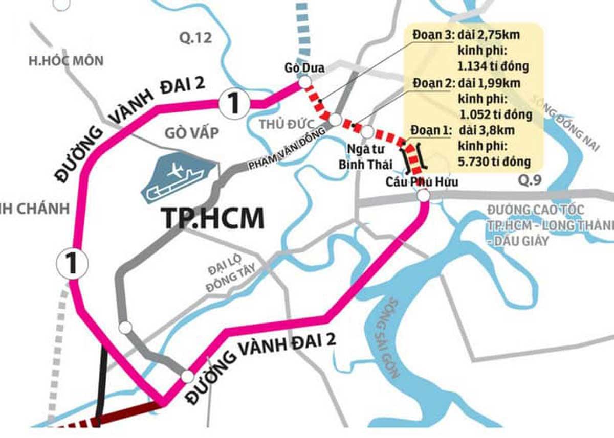 Dự án Đường Vành Đai 2 Thành Phố Hồ Chí Minh