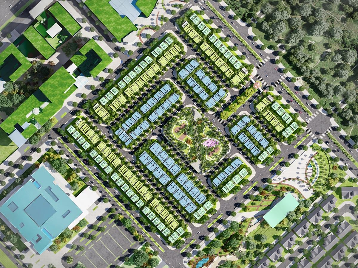 An Khang Residence - PHỐ THƯƠNG MẠI AN KHANG RESIDENCE
