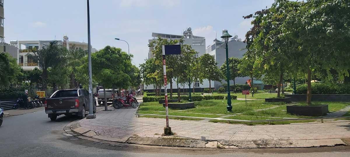 Công viên Dự án Nhà ở Xã hội cho người có thu nhập thấp tại Phường Hiệp Thành - DỰ ÁN CĂN HỘ NHÀ Ở XÃ HỘI HIỆP THÀNH QUẬN 12
