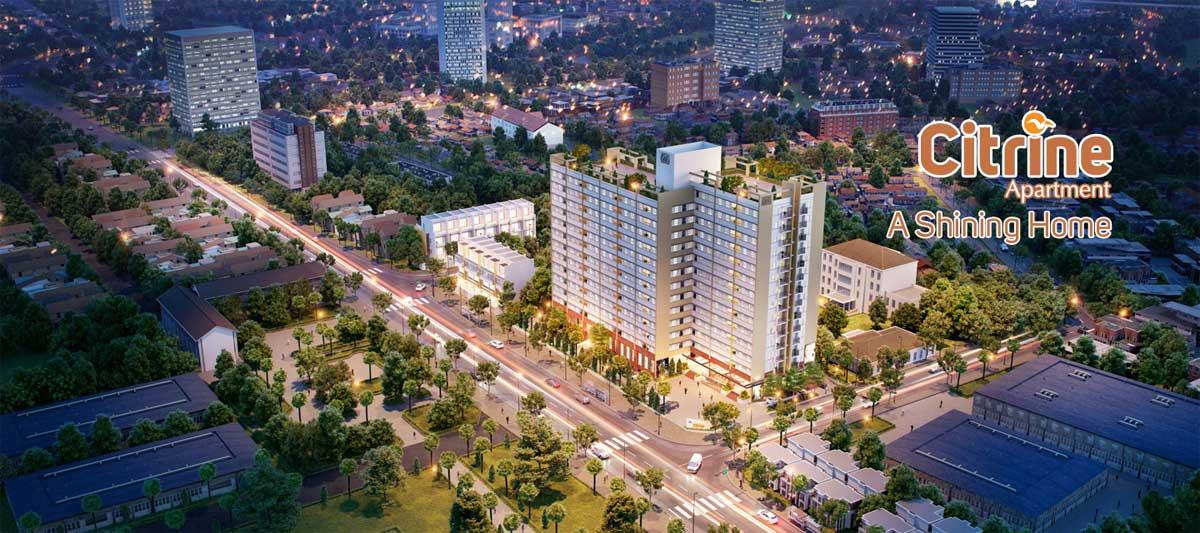 Dự án Citrine Apartment - Công ty Cổ phần Phát triển Nhà Thủ Đức