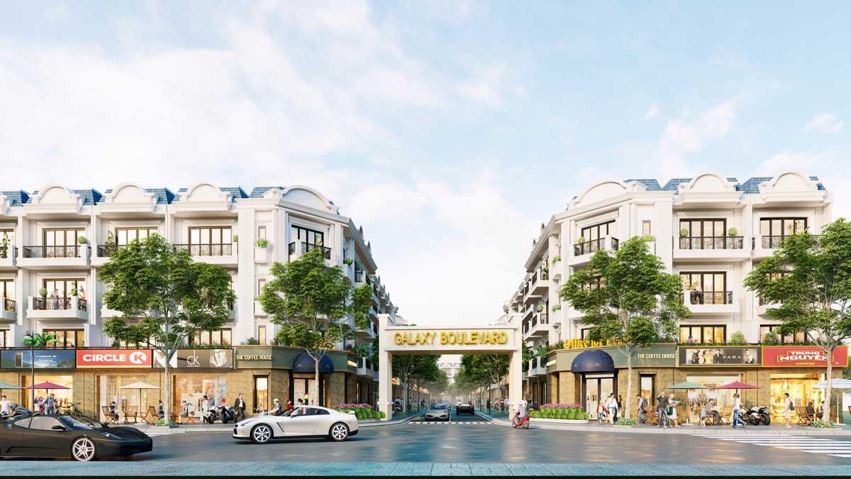 Phối cảnh Dự án Galaxy Boulevard Kim Dinh Bà Rịa Vũng Tàu