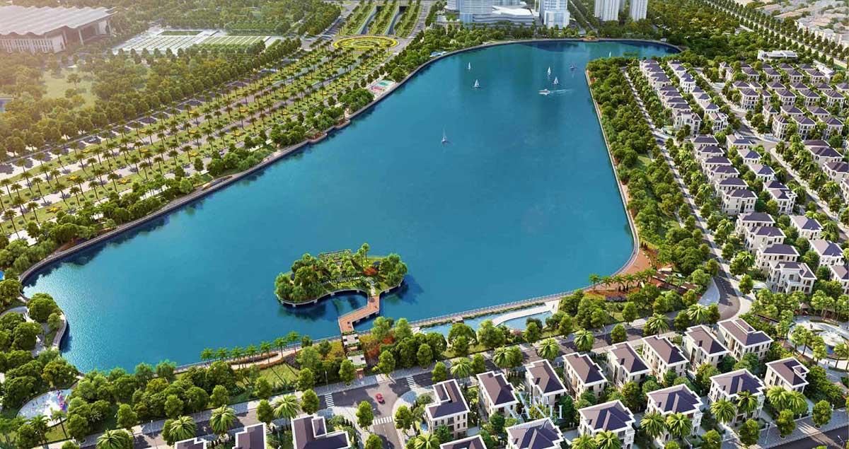 Hồ điều hòa Vinhomes Green Hạ Long Xanh - VINHOMES GREEN HẠ LONG XANH