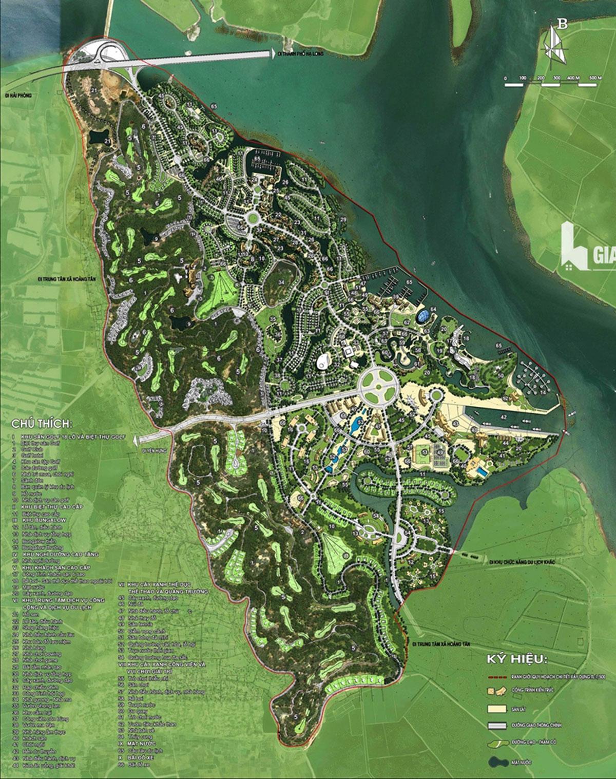 Mặt bằng Dự án Vinhomes Green Hạ Long Xanh - VINHOMES GREEN HẠ LONG XANH