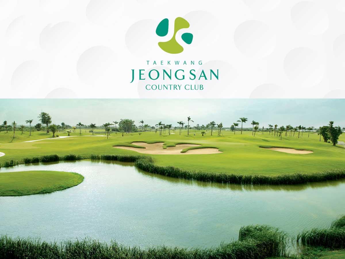 Sân golf Taekwang Jeongsan - ANGEL ISLAND
