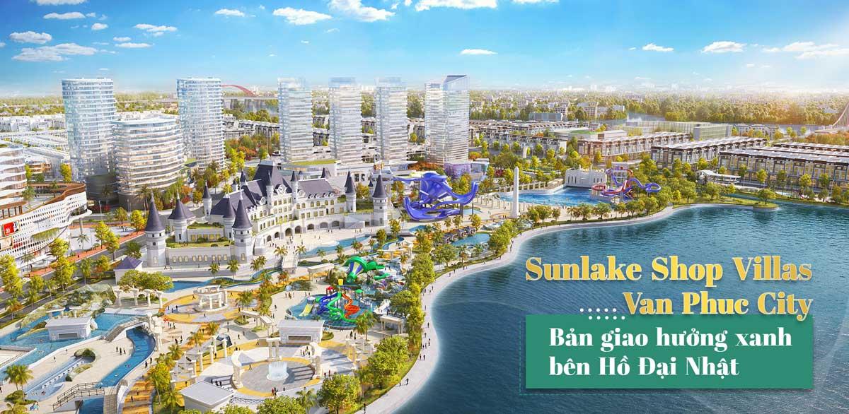 Sunlake Shop Villas tại Vạn Phúc City