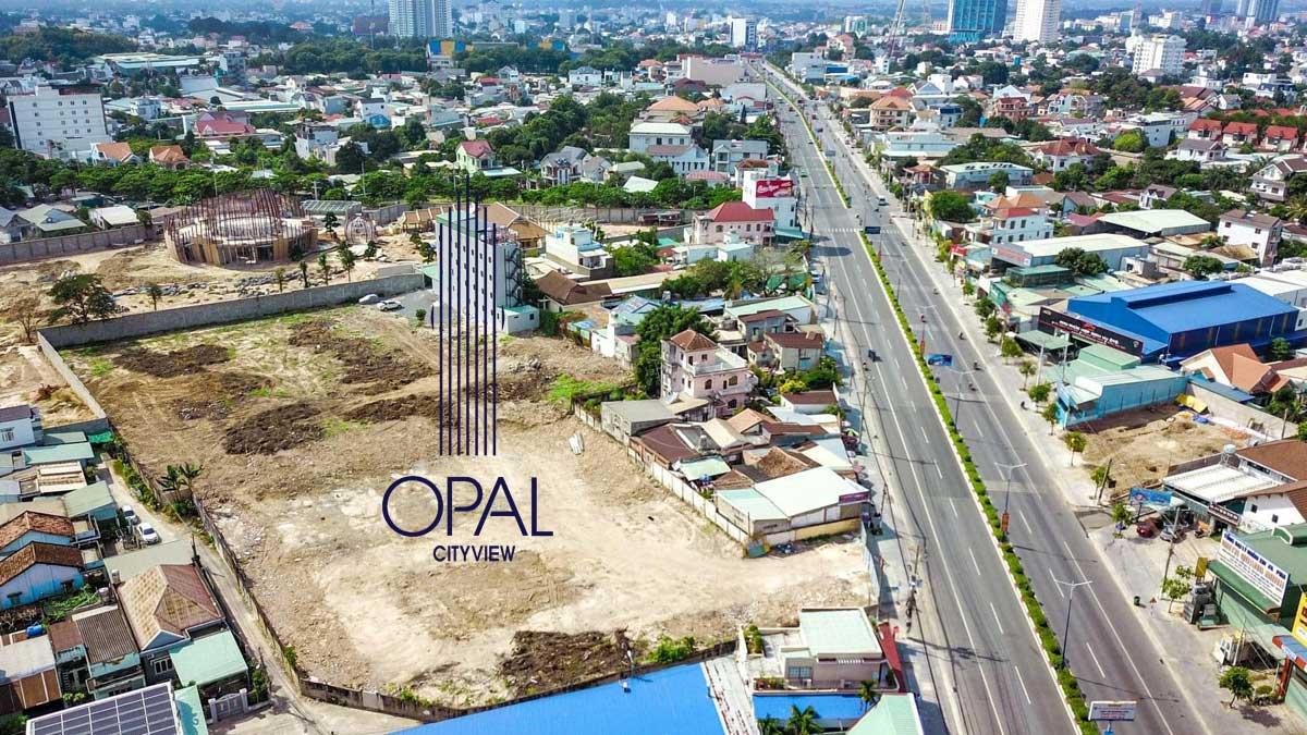 Tien do thi cong Du an Opal Cityview - Opal Cityview