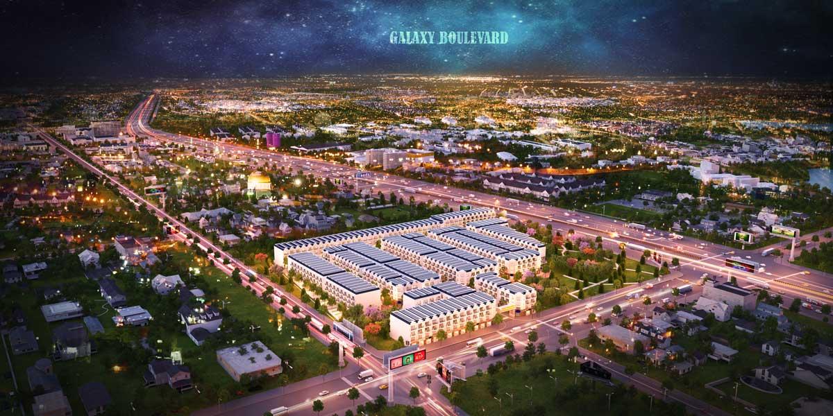 Toàn cảnh Dự án Galaxy Boulevard - GALAXY BOULEVARD