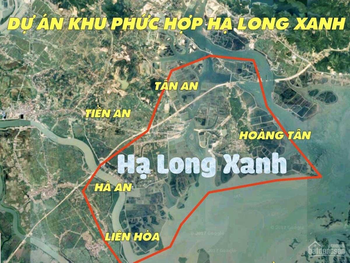 Vị trí Dự án Vinhomes Green Hạ Long Xanh - VINHOMES GREEN HẠ LONG XANH