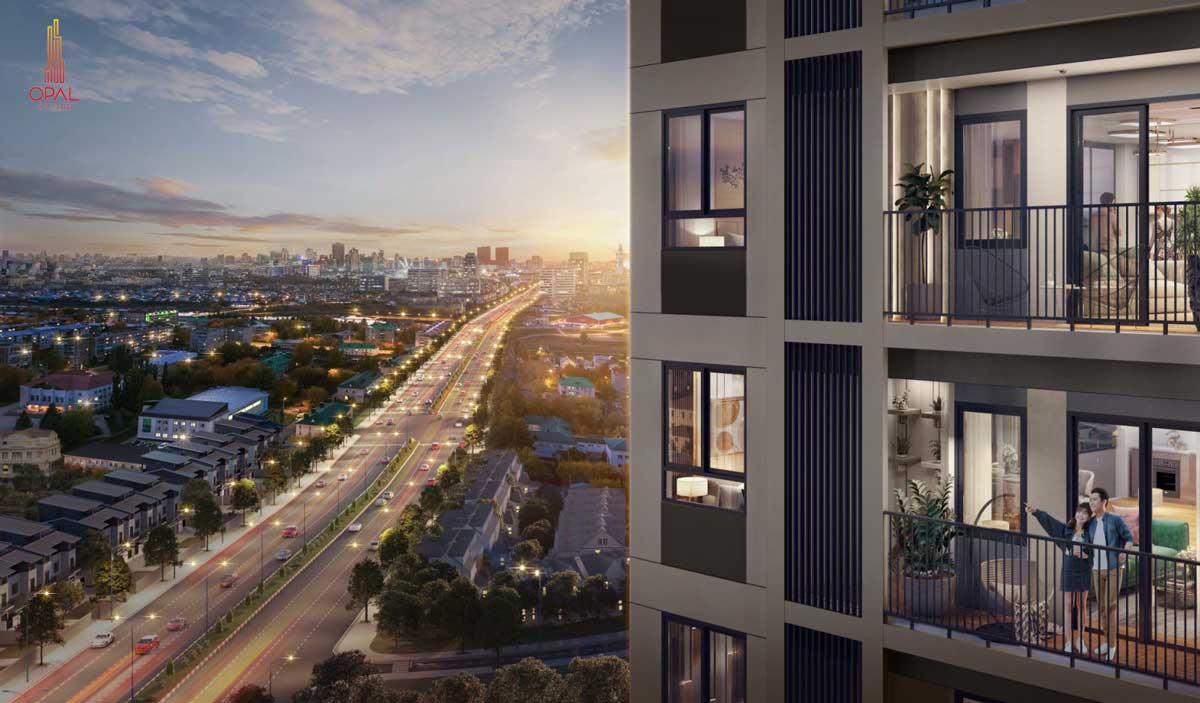 View tu Can ho Opal Cityview - Opal Cityview
