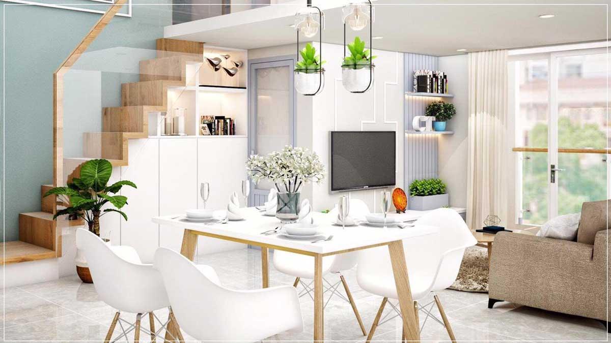bàn ăn căn hộ mini phú thuận quận 7 - KHU NHÀ Ở DỊCH VỤ PHÚ THUẬN QUẬN 7