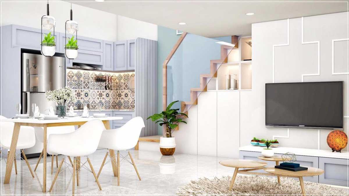 bếp căn hộ mini phú thuận quận 7 - KHU NHÀ Ở DỊCH VỤ PHÚ THUẬN QUẬN 7