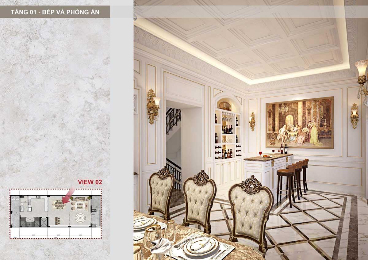 bep va phong an Sunlake Shop Villa - SUNLAKE SHOP VILLAS