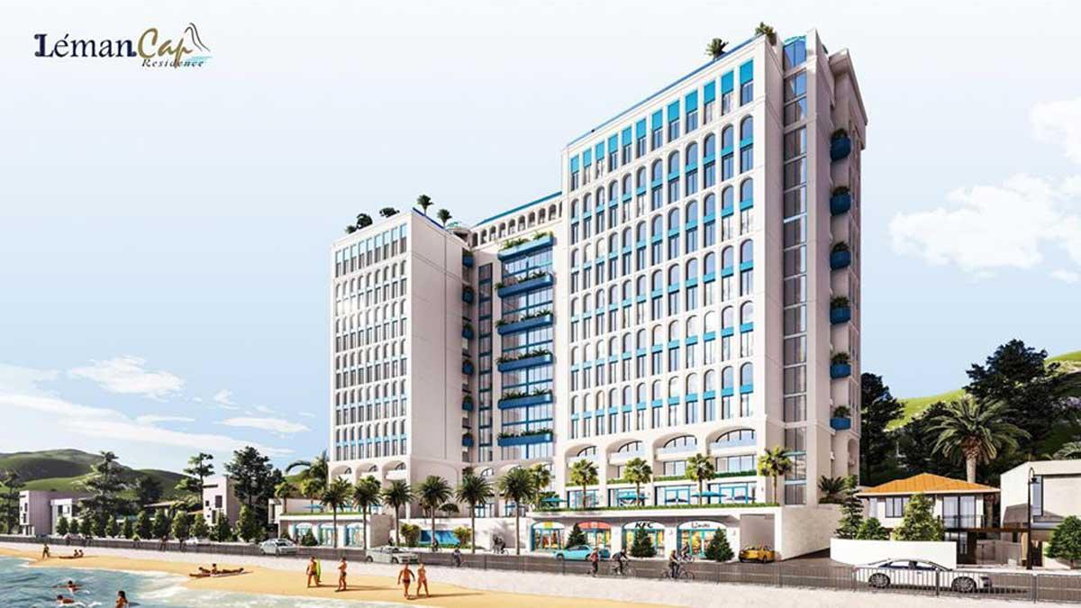 Phối cảnh Dự án Căn hộ Léman Cap Residence Vũng Tàu