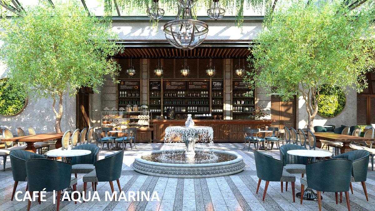 cafe aqua marina - ĐẢO PHƯỢNG HOÀNG PHOENIX ISLAND