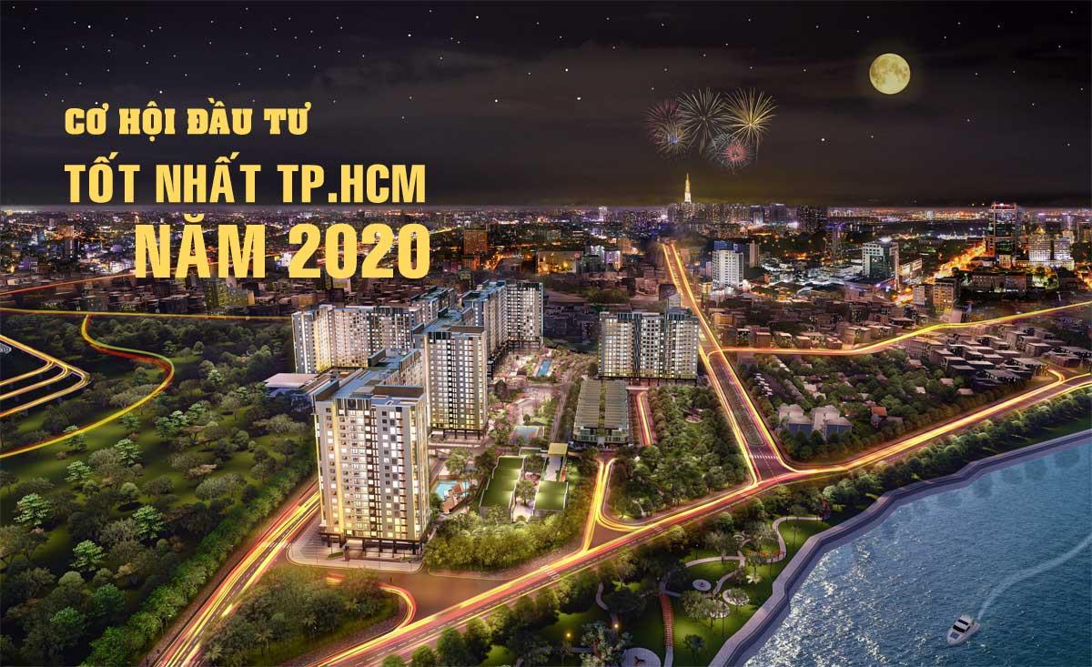 Năm 2020 Khu vực nào đang thu hút nhà đầu tư bất động sản tại TP HCM?