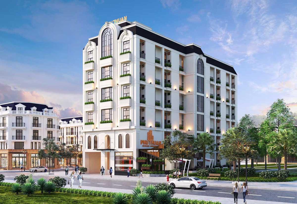 dự án căn hộ mini phú thuận quận 7 - KHU NHÀ Ở DỊCH VỤ PHÚ THUẬN QUẬN 7