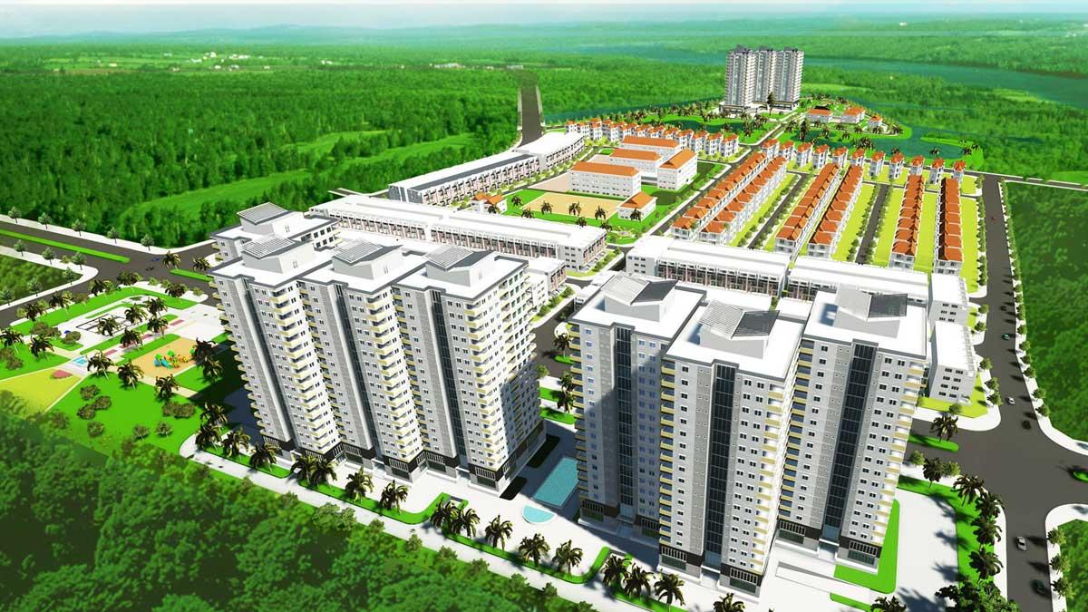 Dự án Khu Dân Cư Phong Phú Bình Chánh