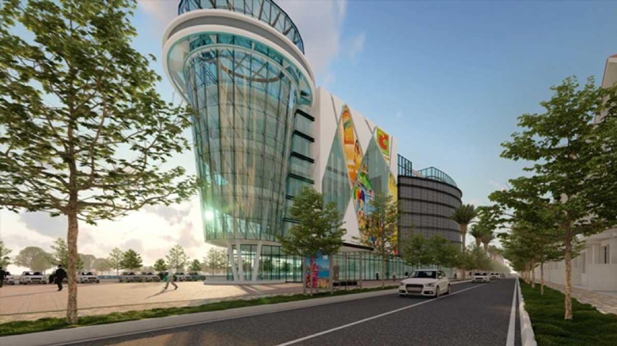 khu trung tam thuong mai 9 tang tai thanh do smart city - THÀNH ĐÔ SMART CITY