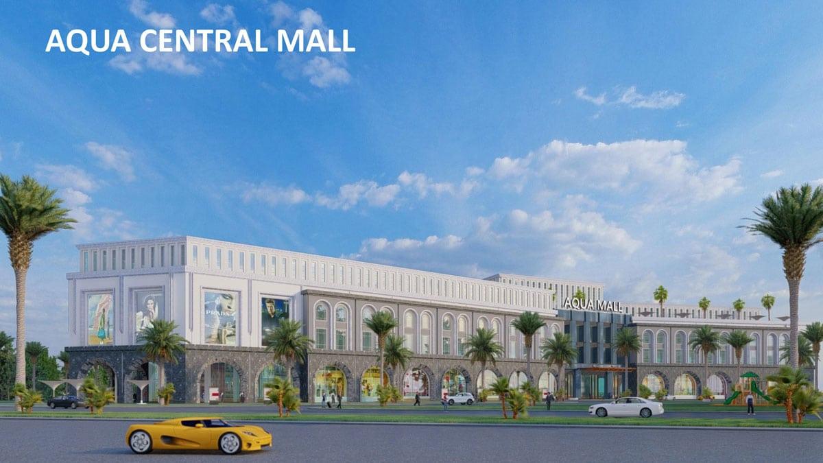 khu trung tam thuong mai aqua central mall - ĐẢO PHƯỢNG HOÀNG PHOENIX ISLAND