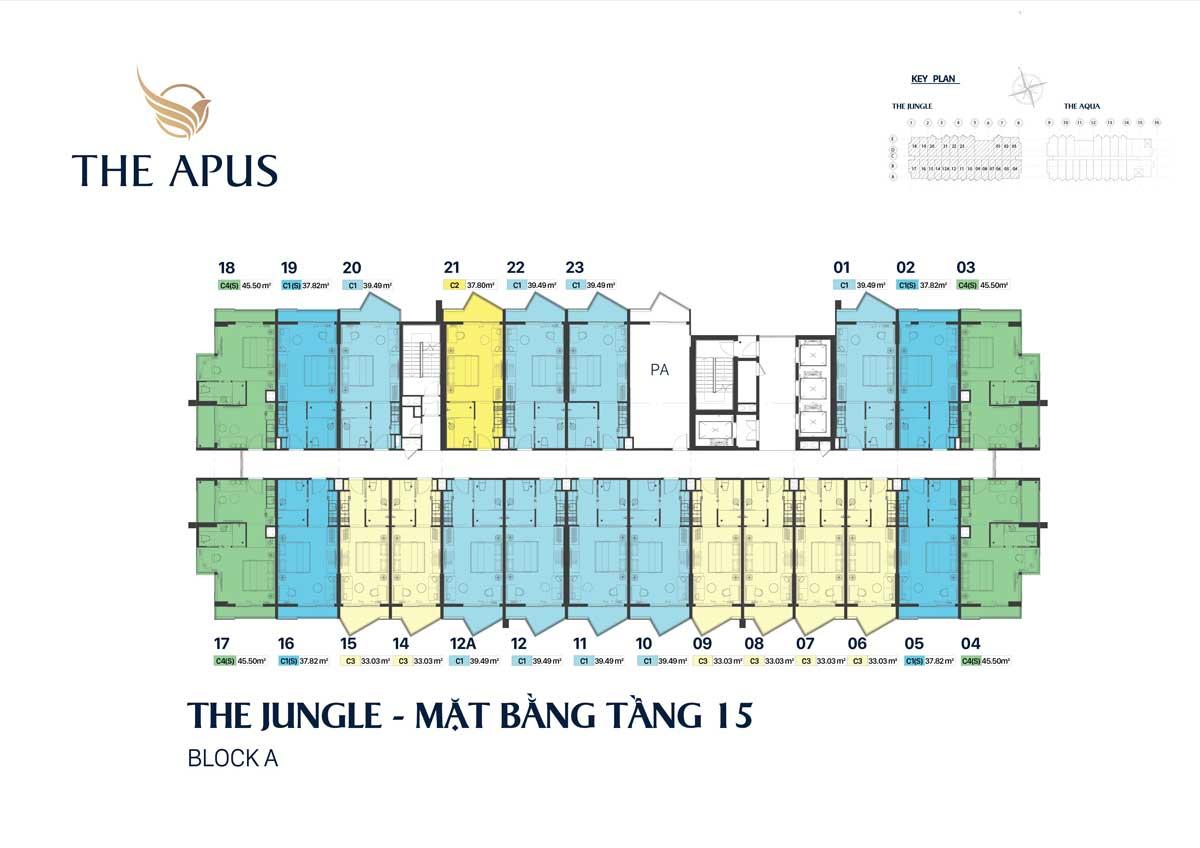 mat bang tang 15 block the Jungle du an the apus long hai - THE APUS PHƯỚC HẢI