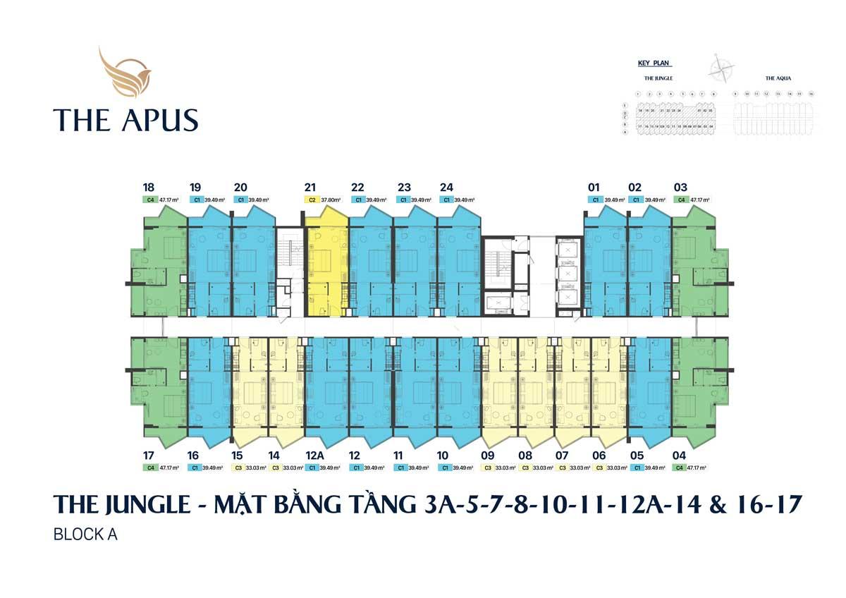 mat bang tang block the Jungle du an the apus long hai - THE APUS PHƯỚC HẢI