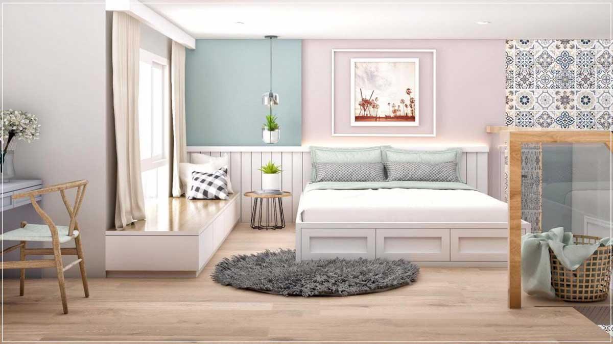 phòng ngủ căn hộ mini phú thuận quận 7 - KHU NHÀ Ở DỊCH VỤ PHÚ THUẬN QUẬN 7