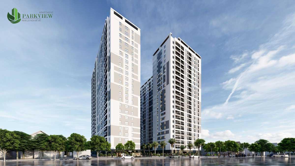 Phối cảnh Dự án Căn hộ Parkview Apartment Bình Dương