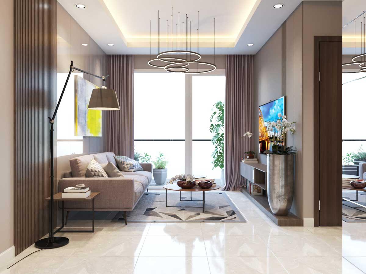 phong khach Can ho Parkview Apartment - PARKVIEW APARTMENT BÌNH DƯƠNG