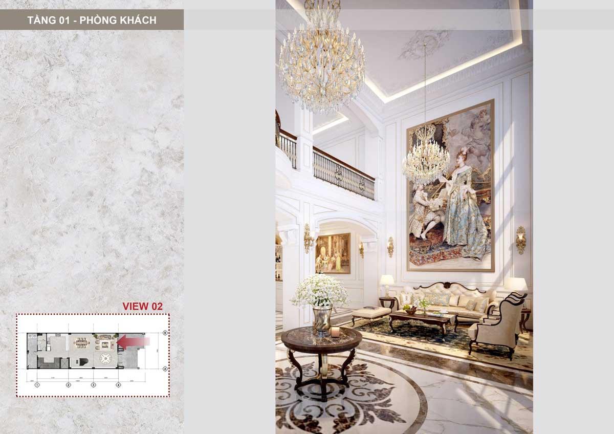 phong khach Sunlake Shop Villa thu duc - SUNLAKE SHOP VILLAS