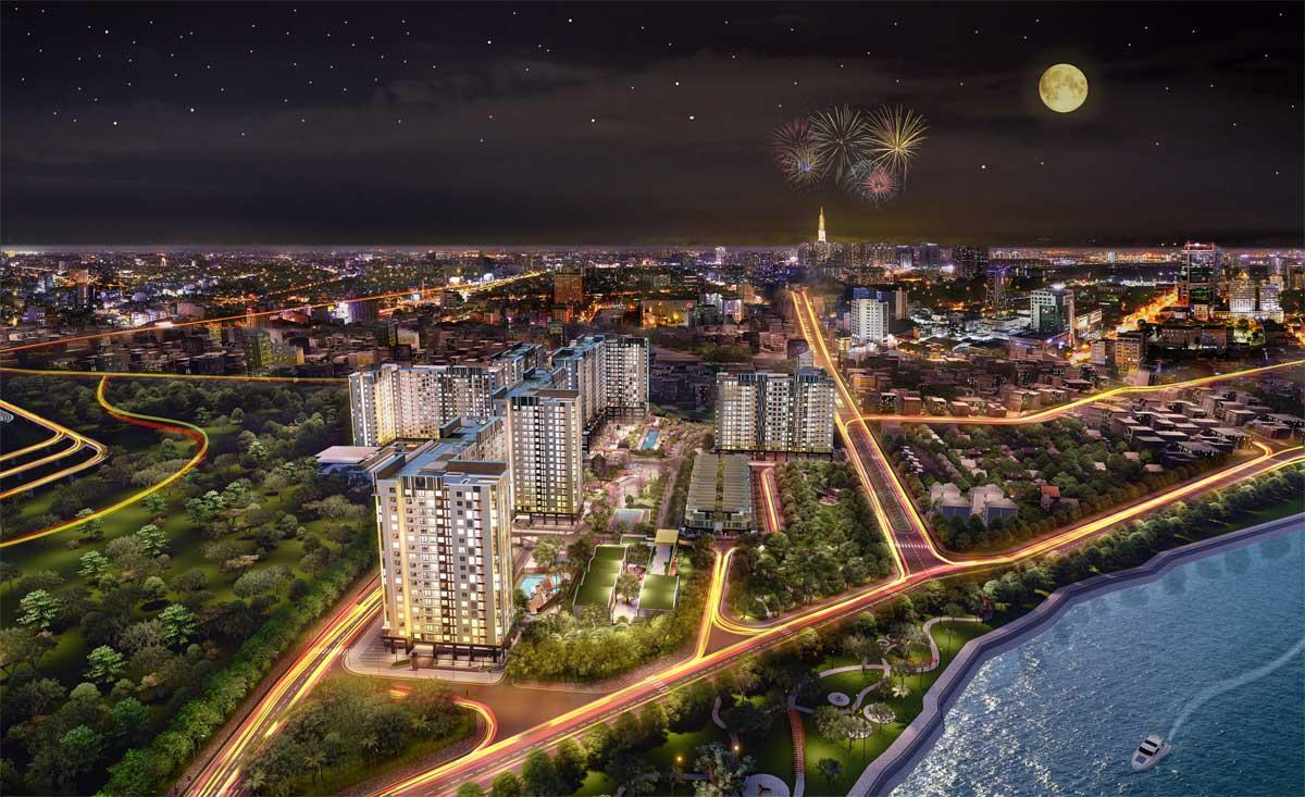 picity high park quan 12 moi nhat 2020 - Sóng đầu tư đổ đồn vào bất động sản Quận 12