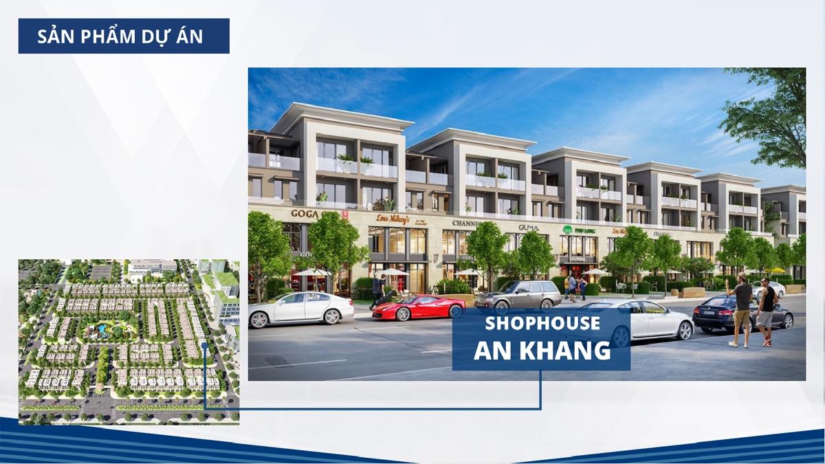 shophouse an khang residence - PHỐ THƯƠNG MẠI AN KHANG RESIDENCE